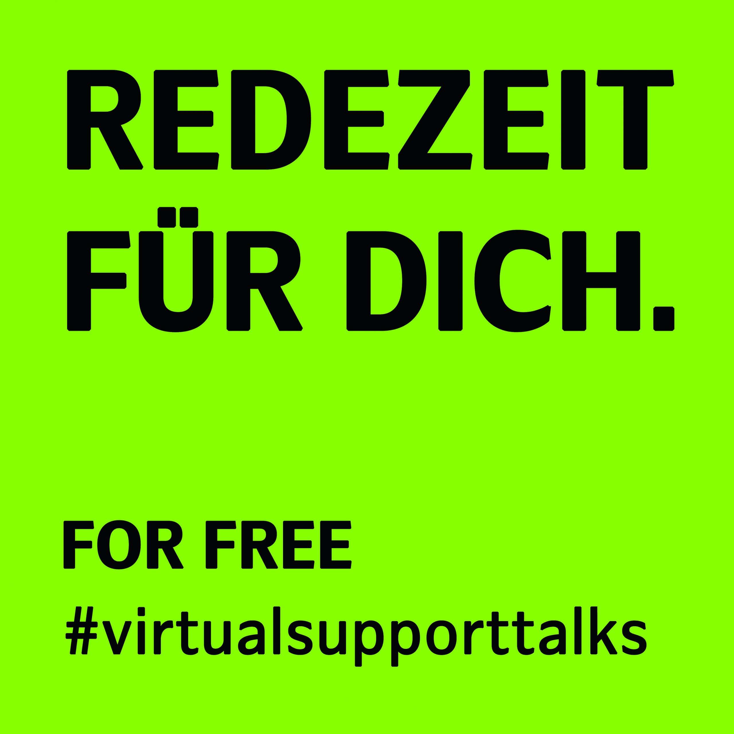 Redezeit fuer Dich #virtualsupporttalks - leadership lernen - Philipp Rabe - online coaching